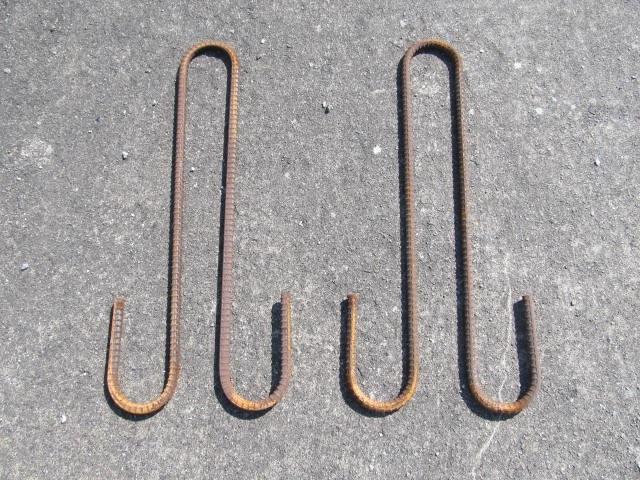 吊り鉄筋形状 寸法 異形棒鋼 D13